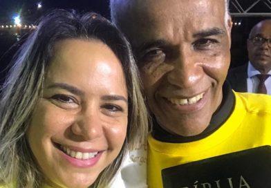 Débora Santana reafirma seu compromisso com os mais carentes de Salvador