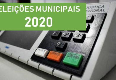 ELEIÇÕES MUNICIPAIS 2020 É ADIADA EM FUNÇÃO DA PANDEMIA