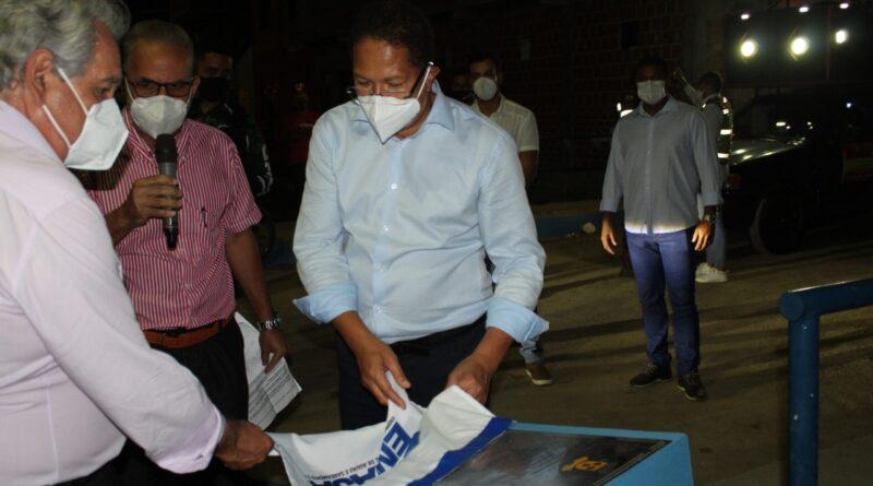 Moradores do Santo Antônio comemoram entrega da obra de saneamento do canal de macrodrenagem