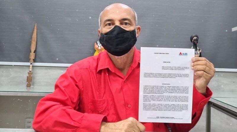 Bira Corôa solicita construção e instalação de UTI Neonatal em Santo Antônio de Jesus